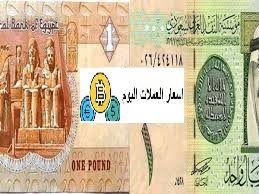 سعر الريال السعودي مقابل الجنية المصري اليوم الاثنين 18 5 2020 One Pound