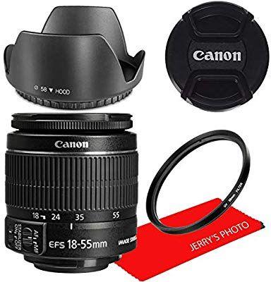 Amazon Com Canon Ef S 18 55mm F 3 5 5 6 Is Ii Lens White Box Camera Photo Canon Ef Lens White Box