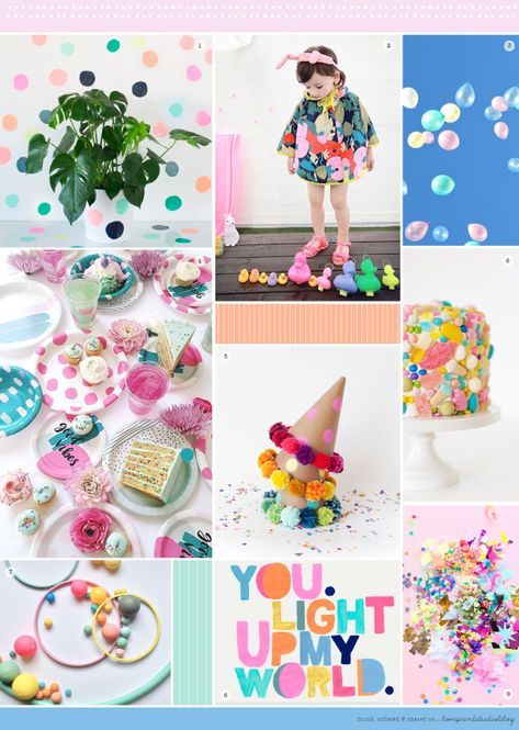 love print studio blog: Midweek moodboard - It's my party...
