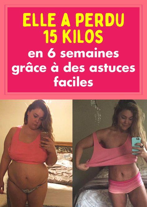 Elle a perdu 15 kilos en 6 semaines grâce à des astuces faciles