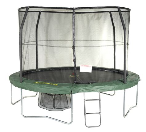 10ft Jumppod Deluxe Trampoline Trampoline With Enclosure