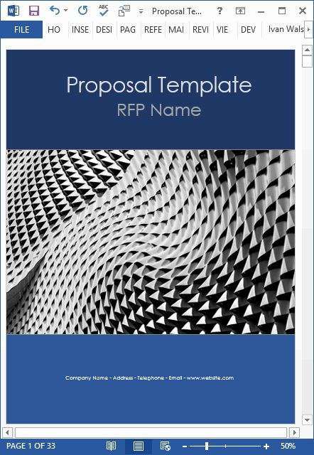 Microsoft Word Proposal Template New New 10 Business Proposal Templates Ms Word An Proposal Templates Project Proposal Template Free Business Proposal Template - ms word proposal template
