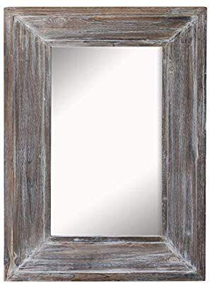 Amazon Com Barnyard Designs Decorative Wall Mirror Rustic