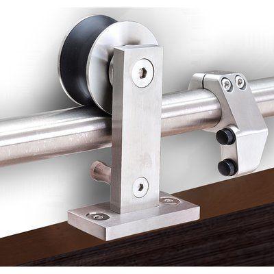 You Ll Love The Top Of Door Sliding Barn Door Hardware At Wayfair Great Deals On All Home Improvement Pro Barn Door Installation Barn Door Barn Door Hardware