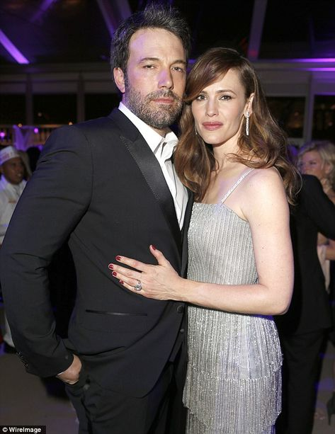 Date night: Jennifer Garner and Ben Affleck led the glamorous couples partying at the Oscars as they attended the Vanity Fair post-awards bash
