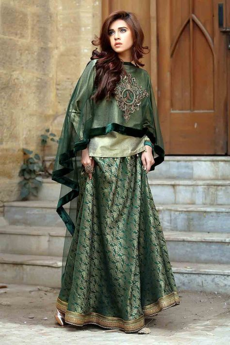 Must check out Pakistani mehndi dresses with price for bridals and young girls. Pakistani mehndi dresses in this article comes along with prices.