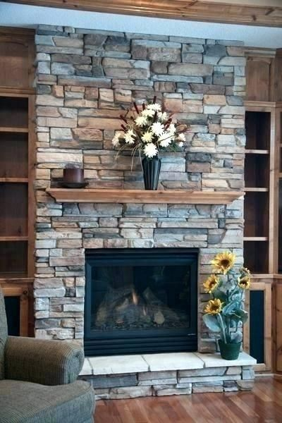 Image Result For Rock Fireplace With Tv Above Rustic Farmhouse