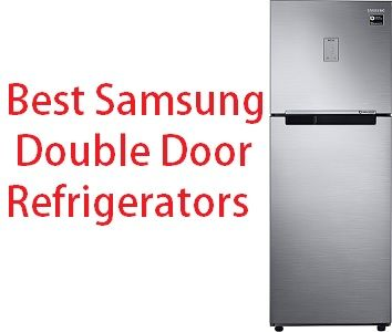 Check Out Reviews Of Best Selling Double Door Refrigerators From Samsung Choose Your Best Refrigerator Double Door Refrigerator Double Doors Best Refrigerator