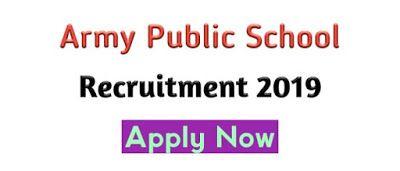 Army Public School Recruitment Aps 2019 Govt Job Of Assam