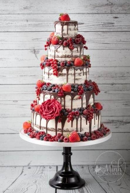15 Ideas Wedding Cakes Fruit Red Velvet For 2019 Wedding Fruit