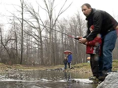 This video by Fairfax County Government features The Vienna Family Fishing Rodeo at the recently restored Wolftrap Creek, located in Wildwood Park. In addition to teaching participants how to fish, volunteers provided stream education and fish cleaning demonstrations.