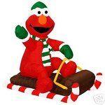 eBay Image 1 Holiday Christmas Decoration Yard Lawn Inflatable Elmo
