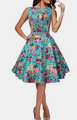 ec05466b9 MODA CRISTIANA AL DIA: Flores y campana | VEST. TRAB. | Vestidos ...