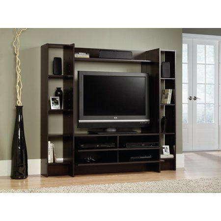 Sauder Beginnings Entertainment Wall System For Tvs Up To 42 Inch