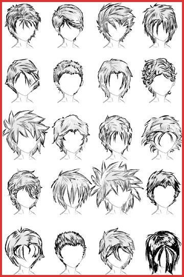 How Do You Draw Short Curly Hair Deviantart Curly Short Hair Drawing In 2020 Drawing Male Hair Anime Boy Hair Anime Hairstyles Male