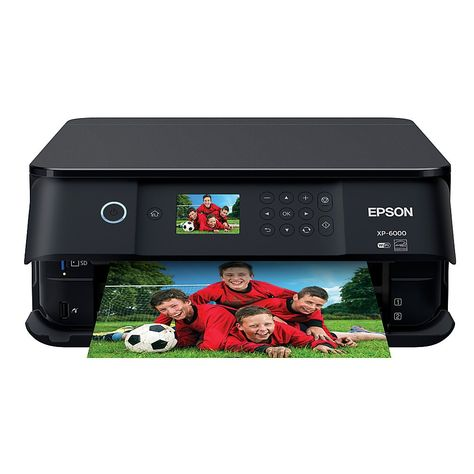 Epson Expression Premium Xp 6000 Wireless Color Inkjet Small In One Printer Copier Scanner C11cg18201 Item 7093895 Scan App Wireless