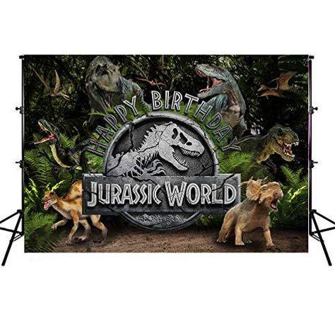 Kids Photo Backgrounds, Boys Girls Unicorn Dinosaur Photography Backdrops, Vinyl Children Portrait Background Photobooth Props - 10X8ft / Jurassic World