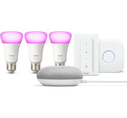 Google Nest Mini Philips Hue Starter Pack Coolblue Voor 23 59u Morgen In Huis Mini Starters Nest