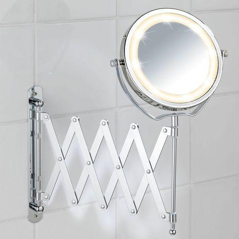 Miroir Grossissant Lumineux Brolo In 2020 Kosmetikspiegel