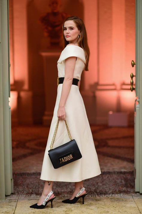 Zoey Deutch Is 'Never Leaving France' After Parfum Christian Dior Dinner: Photo Zoey Deutch is a vision in white while attending the Parfums Christian Dior cocktail dinner on Monday (May in Cannes, France. The actress was joined…