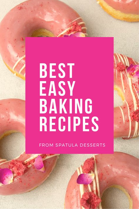 Everyone loves easy baking recipes, desserts that are simple using only a few ingredients! The recipes you find here are collection of EASY and QUICK baking recipe ideas that are totally doable to make from scratch even for beginner home bakers! Baking can be as simple as that. #easybakingrecipes #easybaking #simplebaking #simplebakingideas #easybakingideas #easyrecipes #recipesforbeginners #bakingwithkids #funbaking #easycake #easycupcake #easycookie