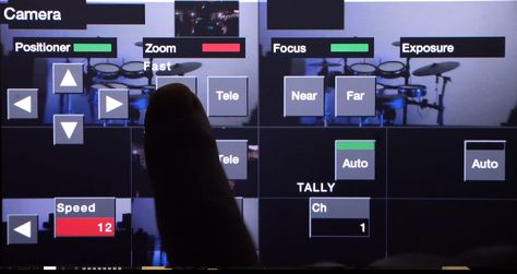 Roland Adds Integrated PTZ Camera control
