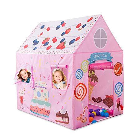 Anyshock Kids Play Tent Princess Playhouse Castle Tent Birthday