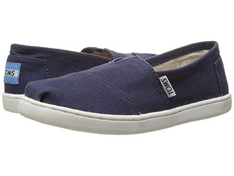 5d885610fbc The Alpargatas are the original TOMS shoe that started the One for One  movement. Navy canvas upper Classic Alpargata design Vegan Designed for kids  ages 5-9 ...