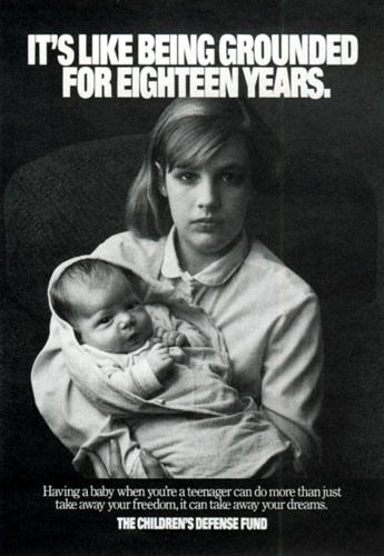 teenage pregnancy 1970 s : PropagandaPosters