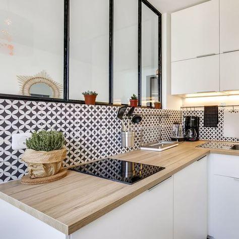 Cuisine avec verrière | Home and garden | Amenagement petite ...