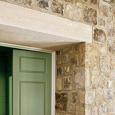 Best New Home Lake House Bill Ingram Stone Houses