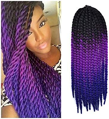 Amazon Com 24 Inch Crochet Braid Hair Extensions Havana Mambo