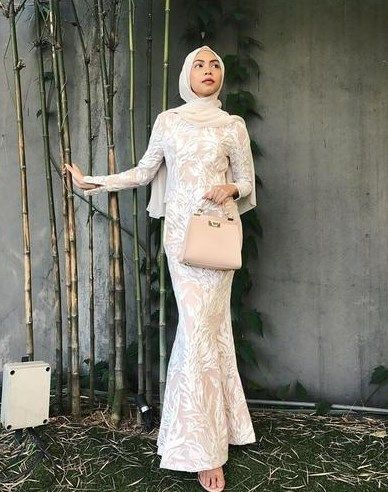 Model Baju Kondangan Terbaru 2019 : model, kondangan, terbaru, Model, Gamis, Duyung, Terbaru, Pakaian, Wanita, Bunga,, Vintage,, Indah