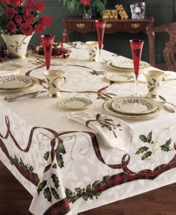 Lenox Holiday Nouveau Collection Reviews Table Linens Dining