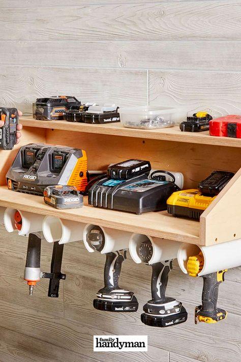 220 Tool Storage Ideas In 2021 Tool Storage Storage And Organization Handyman