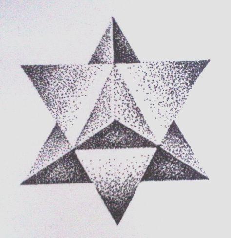 #dotwork #triangles