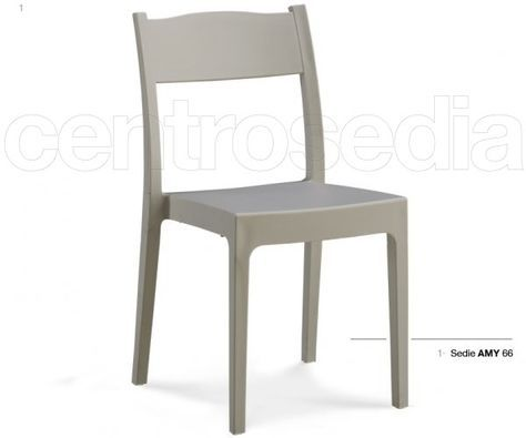 Amy Sedia Polipropilene | sedie | Dining chairs, Chair, Dining