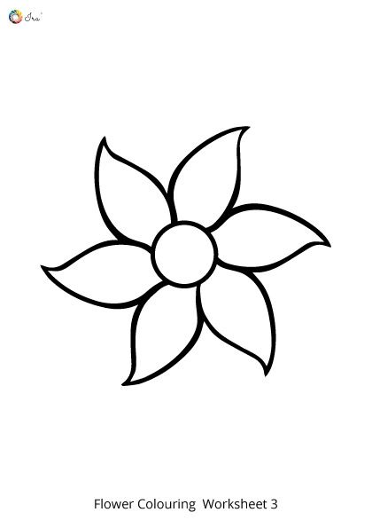 Free Downloadable Flower Colouring Pages For Kids Ira Parenting Printable Flower Coloring Pages Flower Printable Flower Coloring Pages