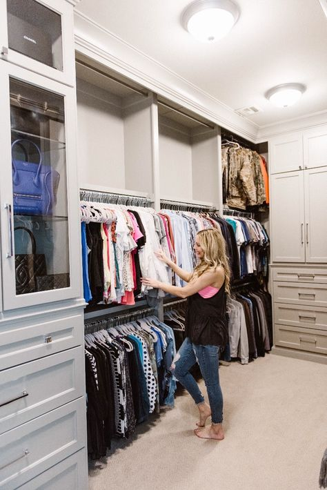 Master Closet Organization Ideas | Lady\'s Closet | Master ...