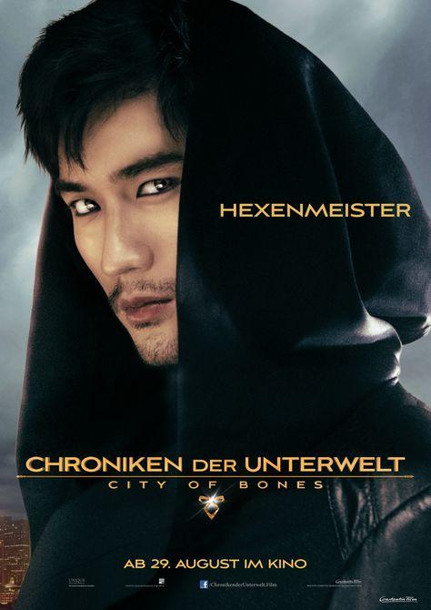 """Charakterposter """"Hexenmeister"""" - Chroniken der Unterwelt - City of Bones - Ab 29.August 2013 im Kino!"""