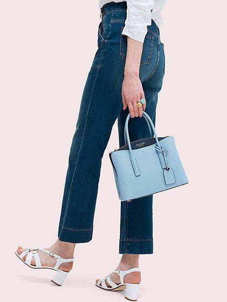 fc5b9021cd Kate Spade Margaux Medium Satchel, Horizon Blue in 2019 | Products ...