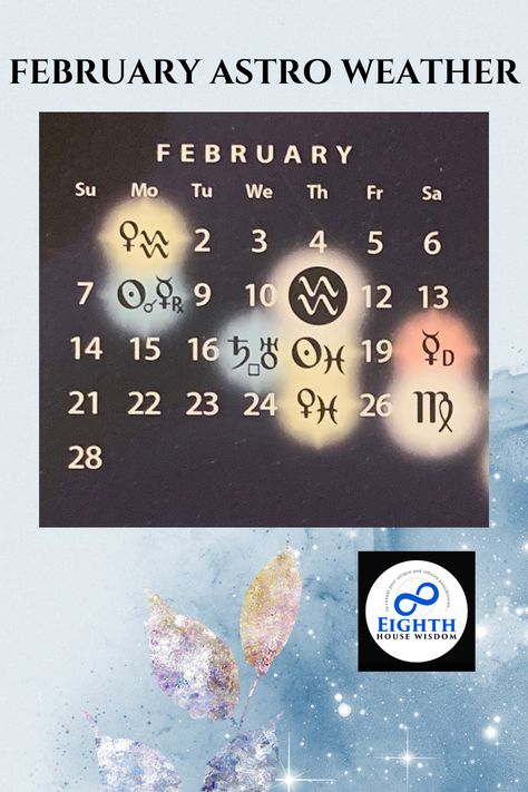 February 1 Venus enters Aquarius♒️ February 8 has Sun conjunction Mercury in retrograde in Aquarius♒️ February 11 is the New moon🌑in Aquarius♒️ adding to the large Stellium of 6 planets in Aquarius♒️ • February 17 Saturn squares Uranus for what may be another explosive event on the global scene February 18 the Sun moves into Pisces♓️ February 20 Mercury goes direct February 25 Venus moves into Pisces February 27 the Full Moon in Virgo Blessed Be Wise Ones!
