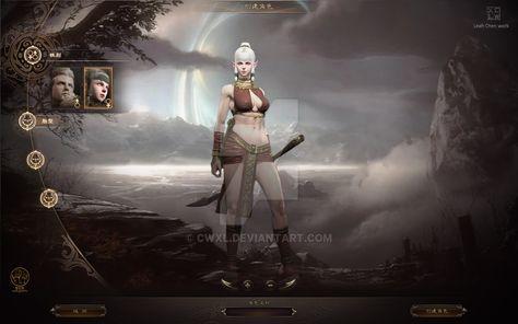 Game GUI by cwxl on DeviantArt