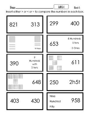 Comparing 3 Digit Numbers Worksheets Worksheets Are Obviously The Spine To In 2021 Comparing Numbers Worksheet 2nd Grade Math Worksheets Reading Response Worksheets Adding three digit numbers worksheets