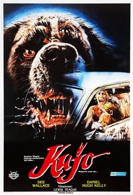 Cujo 1983 Poster In 2020 Classic Movie Posters Vintage Movies