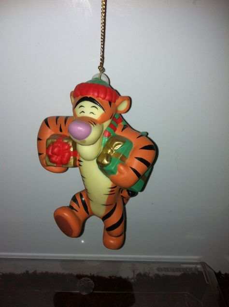 Tigger Christmas Ornaments.Tigger Grolier Cause I M The Only One Christmas