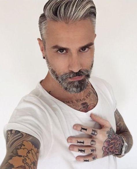 20 Gray Unglaubliche Frisuren Fur Manner Herren Frisuren Graue
