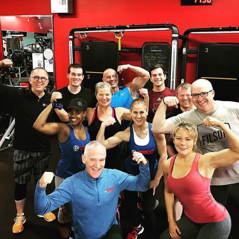 University Training Event Gym Franchise Anytime Fitness Workout