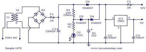u p s circuit diagram schema wiring diagram plc Block Diagram