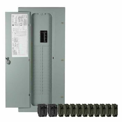 Details About New Ge 200 Amp 32 Space 40 Circuit Copper Bus Home Indoor Main Breaker Box Panel Locker Storage Storage Gfci